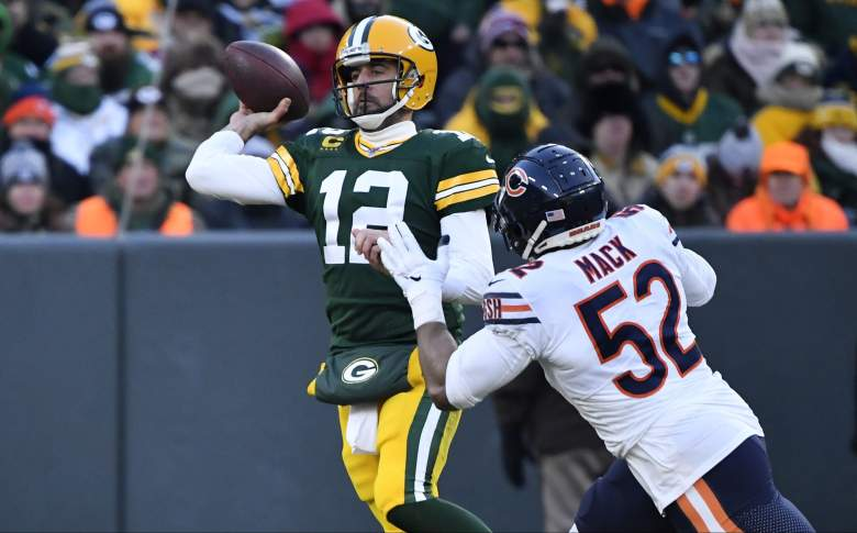 Packers Bears 2020 schedule