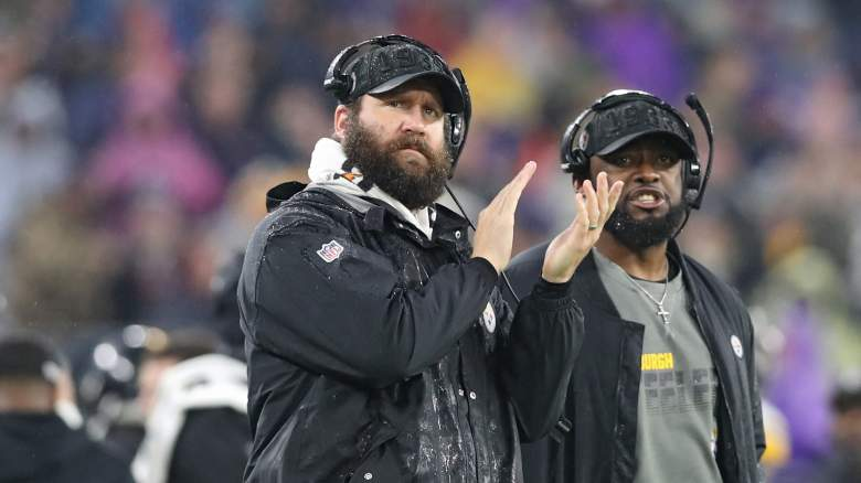 Ben Roethlisberger and Mike Tomlin in 2019