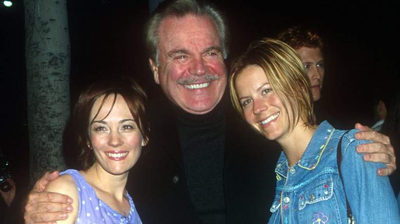 Natasha Gregson Wagner, Robert Wagner and Courtney Wagner