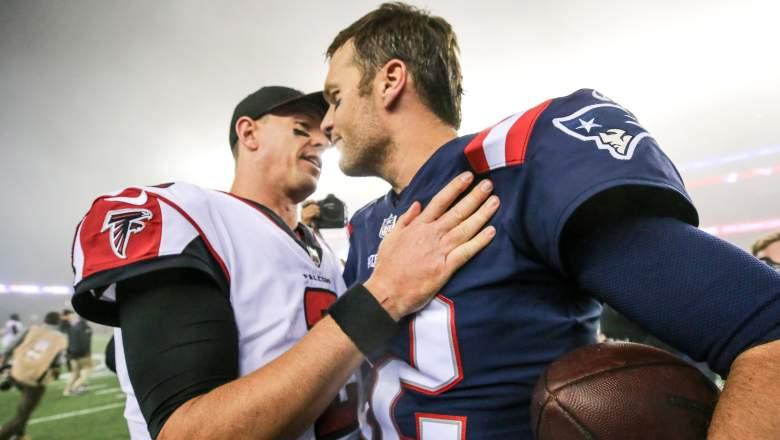 Tom Brady and Matt Ryan