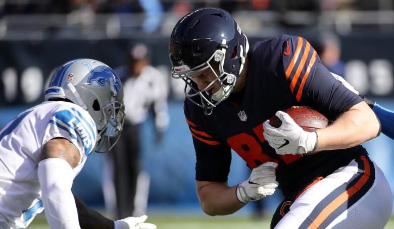 Bears release TE Adam Shaheen