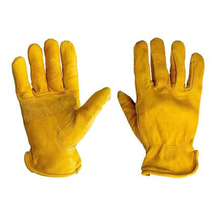 G & F Premium Leather Work Gloves