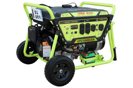 Green-Power America GPG10000CEW Portable Generator