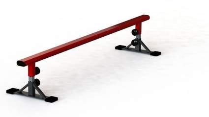 FreshPark Professional BMX and Skateboarding Grind Rail