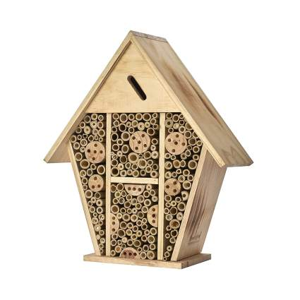 leaf cutter and mason bee house
