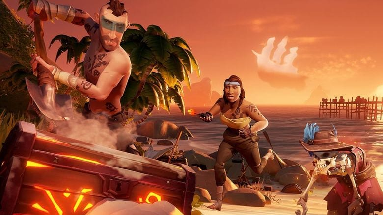 how to open ashen chest sea of thieves