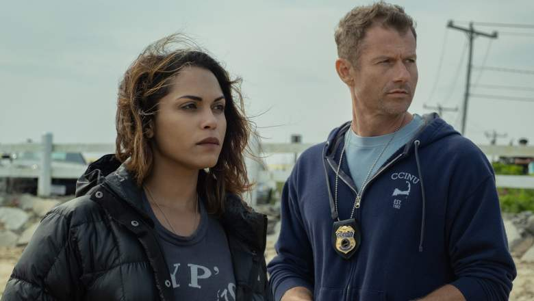 Monica Raymund and James Badge Dale in Hightown