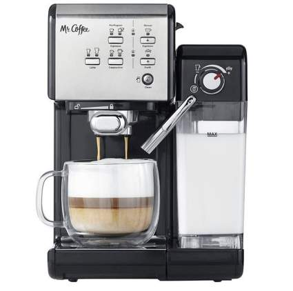 Mr. Coffee One-Touch CoffeeHouse Espresso and Cappuccino Machine