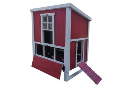 Omitree Sturdy Plywood Backyard Chicken Coop