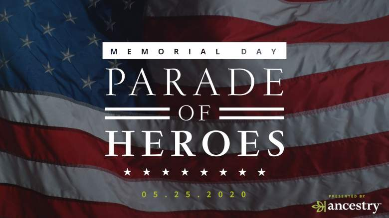 Ancestry's Memorial Day Parade of Heroes