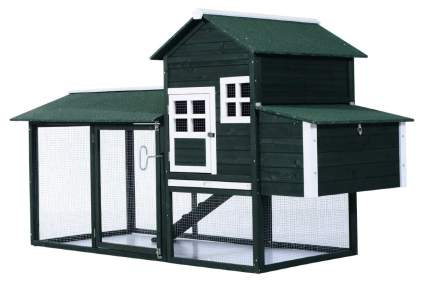 PawHut 83 Inch Backyard Chicken Coop
