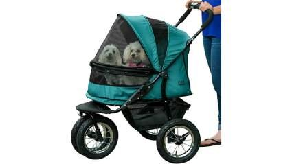 pet gear zipperless dog stroller