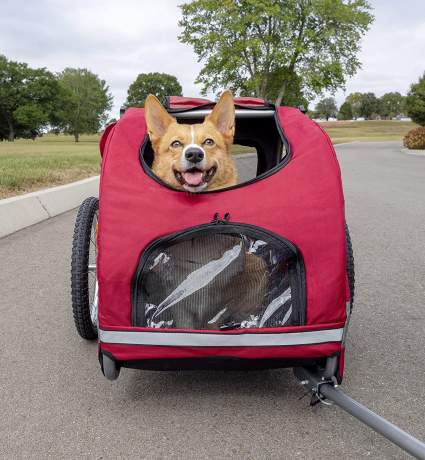petsafe happy ride bicycle trailer