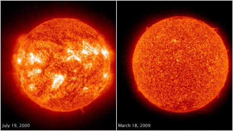 sun lockdown solar minimum, sun lockdown, solar minimum, mini ice age