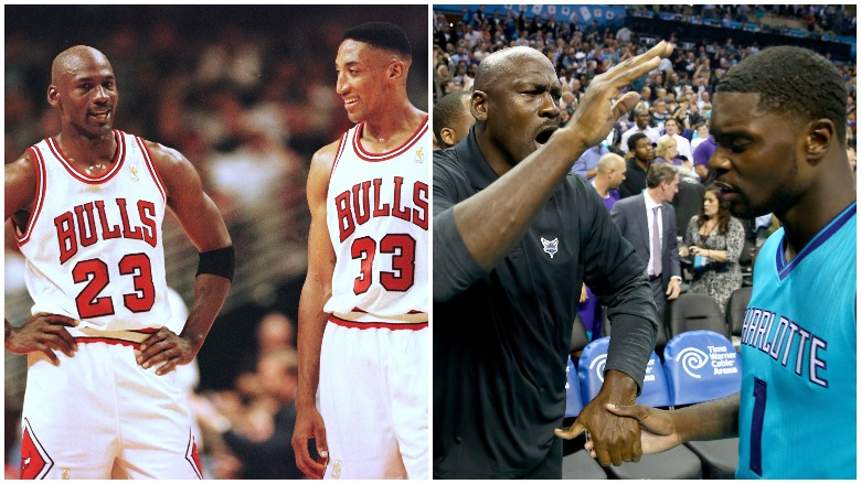 Michael Jordan Now
