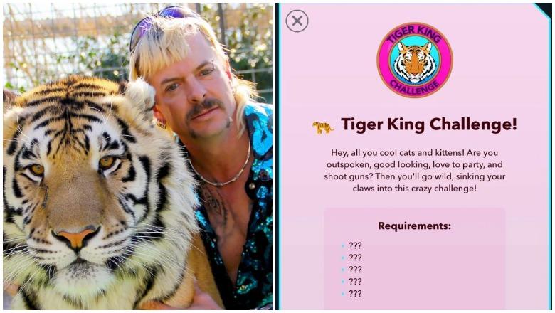 Tiger King Challenge BitLife