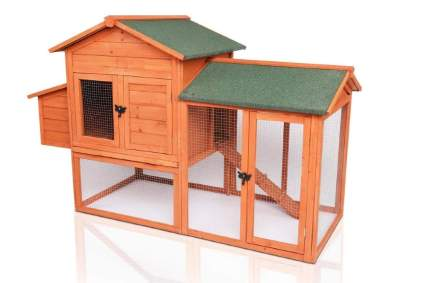 Potby Deluxe Wooden Chicken Coop