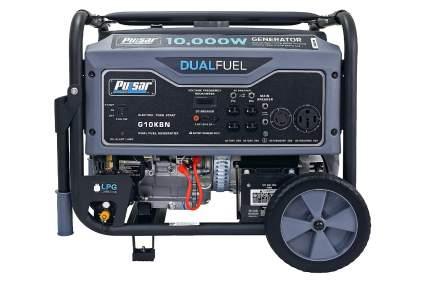 Pulsar G10KBN Dual Fuel Portable Generator