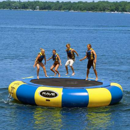 RAVE Sports 20' Aqua Jump Eclipse Water Trampoline