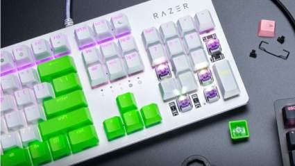 razer cherry keycaps