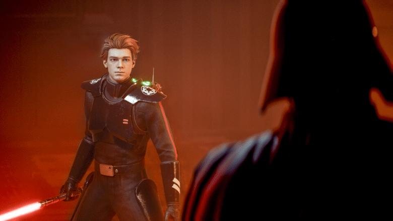 Inquisitor Cal Kestis in Jedi Fallen Order