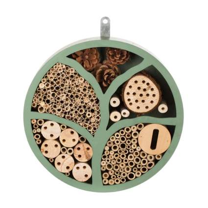 round insect house