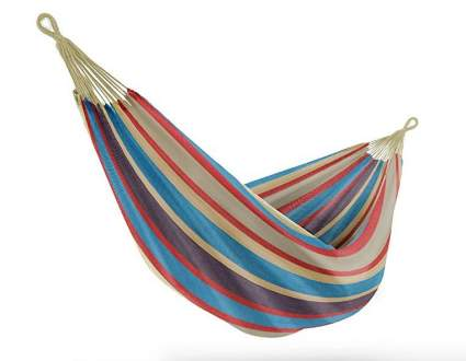 Sorbus Brazilian Double Hammock with Carrying Pouch