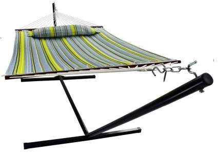 Sorbus Heavy Duty Hammock with Stand and Spreader Bars