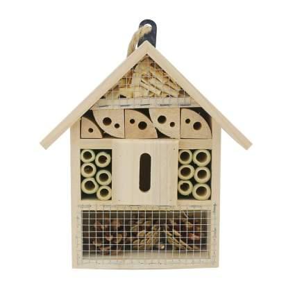 handmade wood bee house