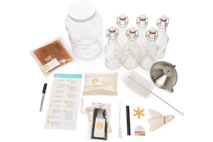 Kombucha starter set with bottles