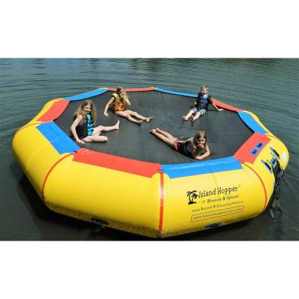 Island Hopper 17' Bounce N Splash
