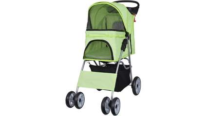 vivo 4 wheel pet stroller