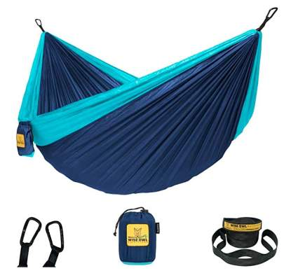 Wise Owl Outfitters Hammock with Tree Straps