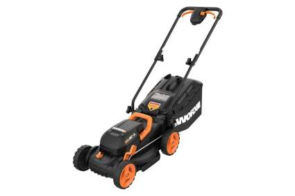 Worx WG779 14in 40v Cordless Electric Lawn Mower