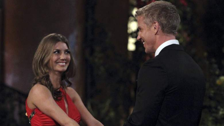 AshLee Frazier on Sean Lowe's season of The Bachelor on ABC.