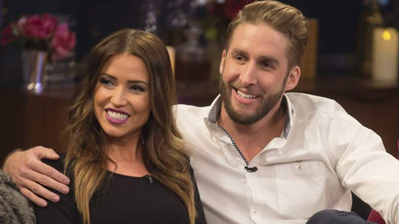 Kaitlyn Bristowe and Shawn Booth on the finale of their season of The Bachelorette.