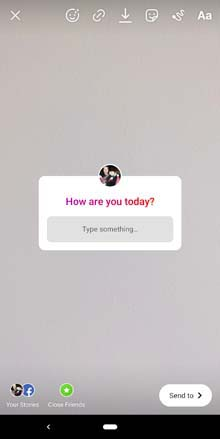 Instagram Anonymous Questions Sticker