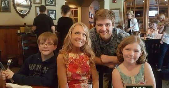 Angela Armstrong family