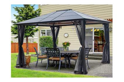 hardtop patio gazebo
