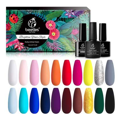 Beetles perfect 21 color polish set