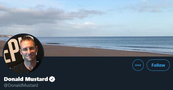 Donald Mustard Twitter Header