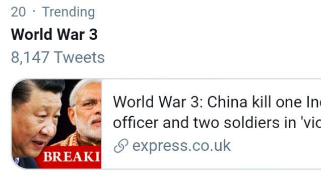 China World War 3