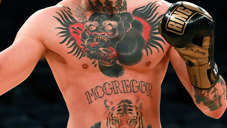 UFC Champ and One-time Boxer Conor McGregor