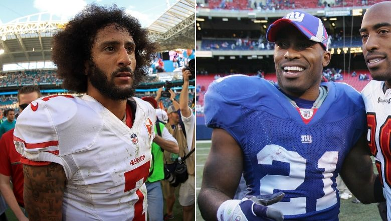 Tiki Barber called out over flip flopping takes on Colin Kaepernick
