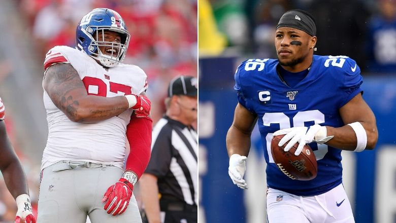 Giants' Dexter Lawrence & Saquon Barkley named to NFL's All-Under 25 team