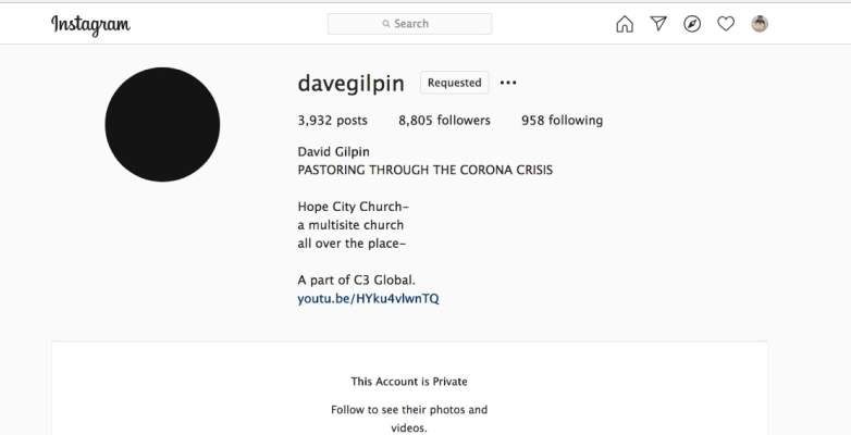 Dave Gilpin Instagram