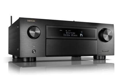 A Denon AVR-X6500H home theater receiver
