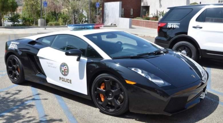 LAPD Lamborghini