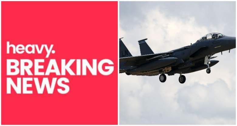 missing fighter jet