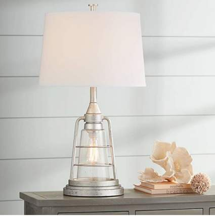 Fisher Nautical Table Lamp with Nightlamp